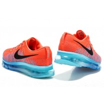 CHEAP NIKE AIR MAX 2014 MEN RUNNING SHOES RED BLUE BLACK OUTLET