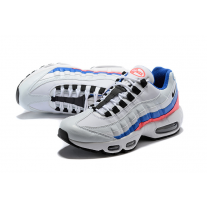 Cheap Nike Air Max 95 Women Shoes Black White Blue Outlet