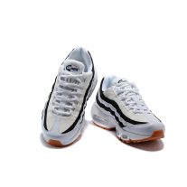 Cheap Nike Air Max 95 Women Shoes Black White Orange