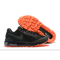Cheap Nike Air Vapormax Flyknit Men Shoes Black Orange