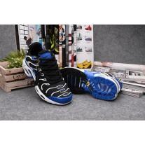 Wholesale Nike Air Max TN Women Shoes Black White Blue
