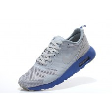 CHEAP NIE AIR MAX THEA PRINT 2 MEN RUNNING SHOES ROYAL BLUE GRAY OUTLET