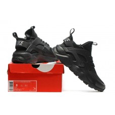 CHEAP NIKE AIR HUARACHE IV 4 WOMEN RUNNING SHOES BLACK FOR SALE