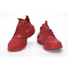 CHEAP NIKE AIR HUARACHE IV 4 WOMEN RUNNING SHOES WINE RED OUTLET SALE
