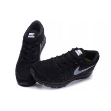 CHEAP NIKE AIR MAX 2014 MEN RUNNING SHOES BLACK FOR SALE