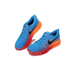 CHEAP NIKE AIR MAX 2014 MEN RUNNING SHOES BLUE ORANGE OUTLET