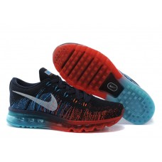 CHEAP NIKE AIR MAX 2014 MEN RUNNING SHOES RED BLUE MOONLIGHT OUTLET