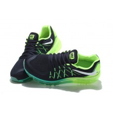 CHEAP NIKE AIR MAX 2015 MEN RUNNING SHOES BLACK FLUORESCENT OUTLET