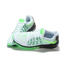 CHEAP NIKE AIR MAX 2015 WOMEN RUNNING SHOES BLACK WHITE FLUORESCENT GREEN SALE