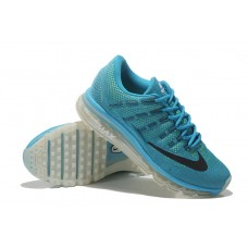 CHEAP NIKE AIR MAX 2016 MEN RUNNING SHOES BLUE FOR SALE