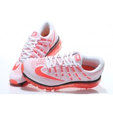CHEAP NIKE AIR MAX 2016 MEN RUNNING SHOES WHITE ORANGE FOR SALE
