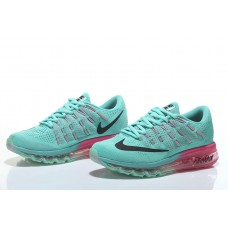 CHEAP NIKE AIR MAX 2016 WOMEN RUNNING SHOES BLUE PINK OUTLET SALE