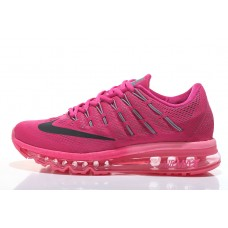 CHEAP NIKE AIR MAX 2016 WOMEN RUNNING SHOES PEACH RED WHOLESALE