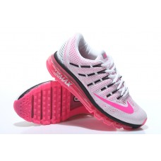 CHEAP NIKE AIR MAX 2016 WOMEN RUNNING SHOES WHITE PEACH FOR SALE