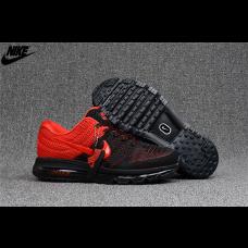 Cheap Nike Air Max 2017 KPU Men Shoes Black Red Outlet