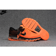 Cheap Nike Air Max 2017 KPU Men Shoes Orange Black For Sale