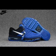 Cheap Nike Air Max 2017 KPU Men Shoes Royal Blue Black Wholesale