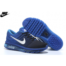 Cheap Nike Air Max 2017 Men Shoes Navy Moon Outlet Sale
