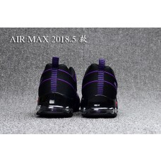 Cheap Nike Air Max 2018 Men Shoes Black Purple Outlet