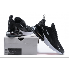 Cheap Nike Air Max 270 Men Shoes Black White Outlet
