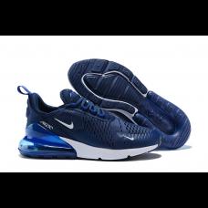 Cheap Nike Air Max 270 Men Shoes Blue White Sale