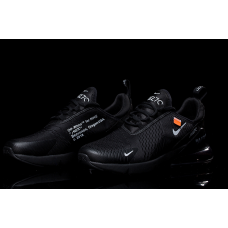 Cheap Nike Air Max 270 Women Shoes Black Outlet