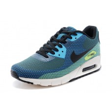 CHEAP NIKE AIR MAX 90 MEN RUNNING SHOES BLUE BALCK GREEN
