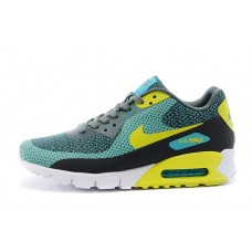 CHEAP NIKE AIR MAX 90 MEN RUNNING SHOES FLUORESCENT YELLOW OLIVE GREEN FOR SALE