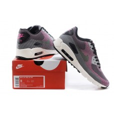 CHEAP NIKE AIR MAX 90 WOMEN RUNNING SHOES MAGENTA BLACK GRAY OUTLET