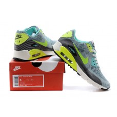CHEAP NIKE AIR MAX 90 WOMEN RUNNING SHOES SEAMLESS BLACK JADE FLUORESCENT GREEN