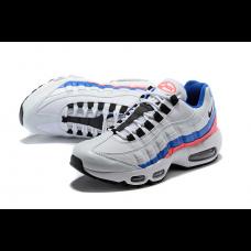 Cheap Nike Air Max 95 Men Shoes Black White Blue