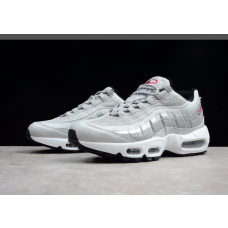 Cheap Nike Air Max 95 Men Shoes Silver Outlet