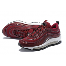 Cheap Nike Air Max 97 Women Shoes White Red Outlet