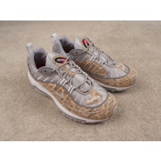 Cheap NIke Air Max 98 Men Shoes Beige Grey Outlet