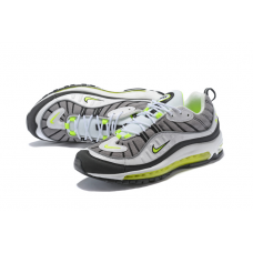 Cheap NIke Air Max 98 Men Shoes Grey Green Outlet