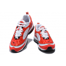 Cheap NIke Air Max 98 Men Shoes Red White Outlet