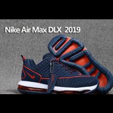 Cheap Nike Air Max DLX 2019 Men Shoes Red Blue