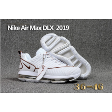 Cheap Nike Air Max DLX 2019 Men Shoes White Outlet