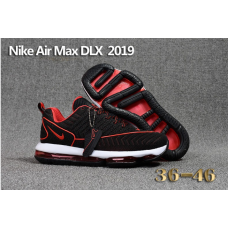 Cheap Nike Air Max DLX 2019 Women Shoes Black Red
