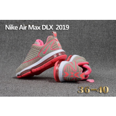 Cheap Nike Air Max DLX 2019 Women Shoes Gray Pink