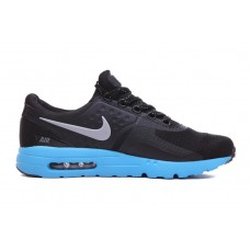 CHEAP NIKE AIR MAX ZERO MEN RUNNING SHOES BLACK BLUE OUTLET SALE
