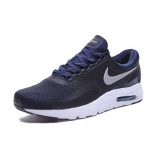 CHEAP NIKE AIR MAX ZERO MEN RUNNING SHOES BLACK WHITE BLUE WHOLESALE