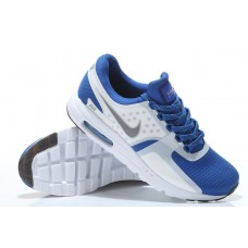 CHEAP NIKE AIR MAX ZERO MEN RUNNING SHOES WHITE ROYAL BLUE WHOLESALE
