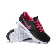 CHEAP NIKE AIR MAX ZERO WOMEN RUNNING SHOES BLACK PEACH WHOLESAlE