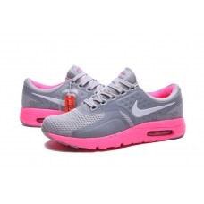 CHEAP NIKE AIR MAX ZERO WOMEN RUNNING SHOES GRAY PEACH OUTLET