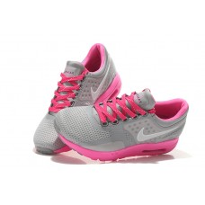 CHEAP NIKE AIR MAX ZERO WOMEN RUNNING SHOES PINK GRAY FOR SALE