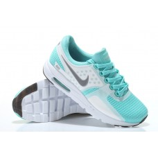 CHEAP NIKE AIR MAX ZERO WOMEN RUNNING SHOES WHITE LIGHT BLUE FOR SALE