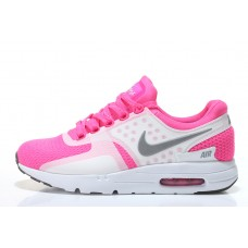 CHEAP NIKE AIR MAX ZERO WOMEN RUNNING SHOES WHITE PEACH OUTLET SALE