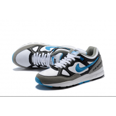 Cheap Nike Air Span Men Shoes Black White Blue
