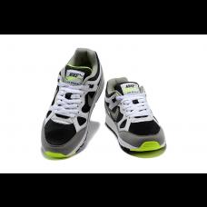 Cheap Nike Air Span Men Shoes Black White Green